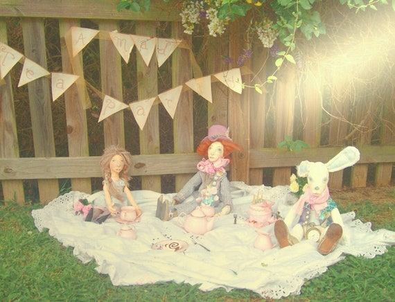 Special Reserved Listing for Elaine - 3 Alice Dolls