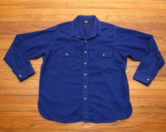 mens vintage Woolrich chamois cloth shirt