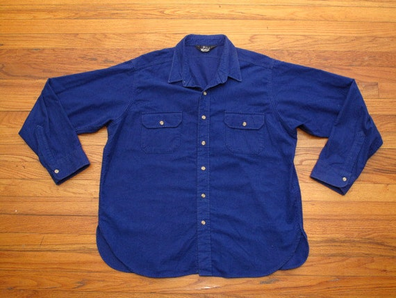 mens vintage Woolrich chamois cloth shirt