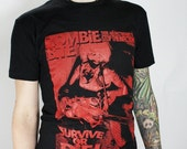 ON SALE Zombie Bite -Dude Horror Tee