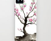 Floral Phone iPhone 6S 6 Plus Case Sakura Tree - Cherry Tree - Designer iPhone Samsung Case