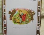 Cigar Box for crafting, purses, supplies  - ROMEO Y JULIETA - Churchill en Tubos
