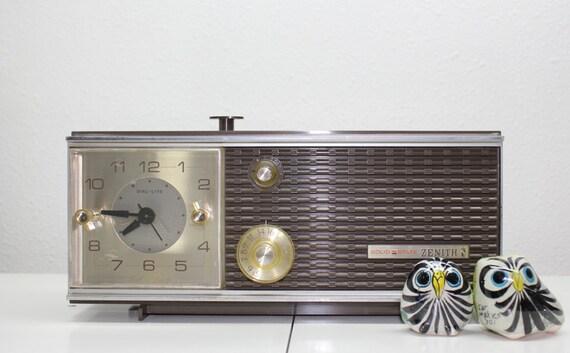 Zenith Clock Radio - Model Y519 | eBay |Zenith Clock Radio