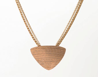 Sound and Fury Cymbal Triangle Necklace