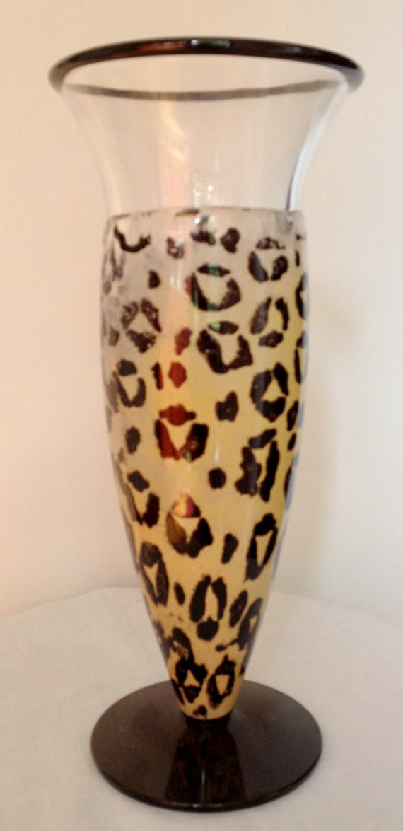 Items Similar To Gorgeous Kosta Boda Rare Animal Print