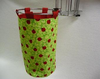 LADYBUG PICNIC - Scrap-Ma-Bob Bag - Scrap Bag - Eco Friendly - Bag - Scrapbooking