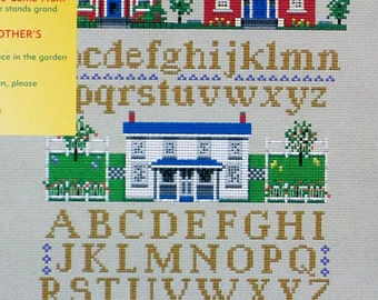 Welcome Home - An Easy Counted Cross Stitch Sampler Chart From Great Bear Canada