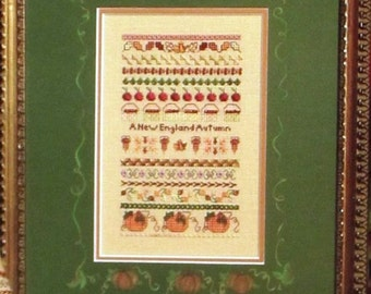 A New England Autumn - Jeannette Douglas Design of Speciality Stitches