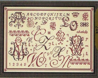 Old Sampler - Passione Ricamo - Cross Stitch Chart