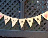 Amour Wedding Banner - Amour