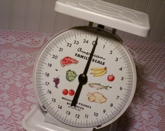 Vintage American Family Scale - 25 Pound  -  Utility Scale - 12-445