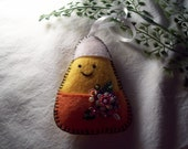 Candy corn Halloween Ornament
