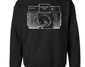 Holga Camera Crewneck Sweat Shirt Retro Lomography  - ON SALE!