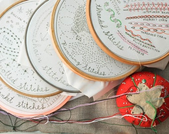 3 Month Stitch of the Month Embroidery Subscription