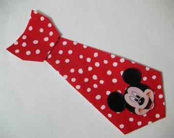DIY No-Sew Mickey Mouse Tie Applique - Iron On