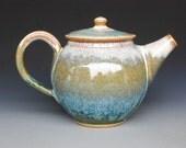 Teapot Tri Layer Blue Drip F