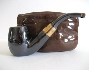 Vintage Ceramic  Pipe Holder