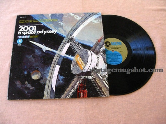 2001 Original Vinyl  LP Stereo Motion Picture Soundtrack Gatefold Cover Nm-