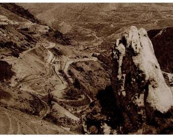 La Cerdagne, Pyrénées-Orientales, France - Vintage French Unused Postcard