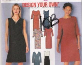 Simplicity 9481  Design Your Own Dress Pattern  SZ 6-12