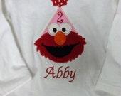 Elmo Birthday shirt only