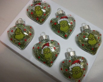 Ornaments - The Grinch Inspired