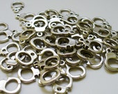 BULK 200 Silver-Toned HAND CUFF Charms Law Enforcement Military