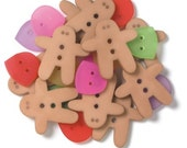 Sugarplums Shaped Buttons by Doodlebug Design Inc