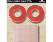 Red Foam Tape by Imaginisce