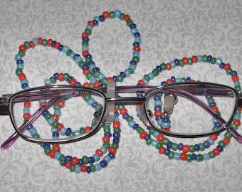 Peeper Keeper Eyeglass Leash -- Carnival