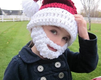 KIDS Bearded Santa