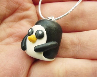 Penguin Gunther Necklace Charm