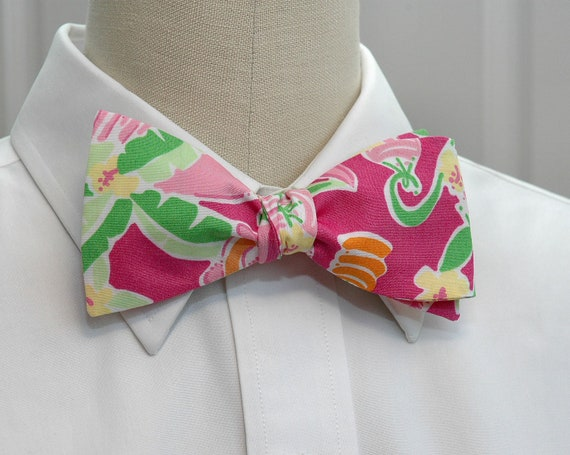 Lilly Bow Tie in Slaterock house design (self-tie)
