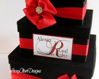 Wedding Card Box Money Holder Personalized Custom Made