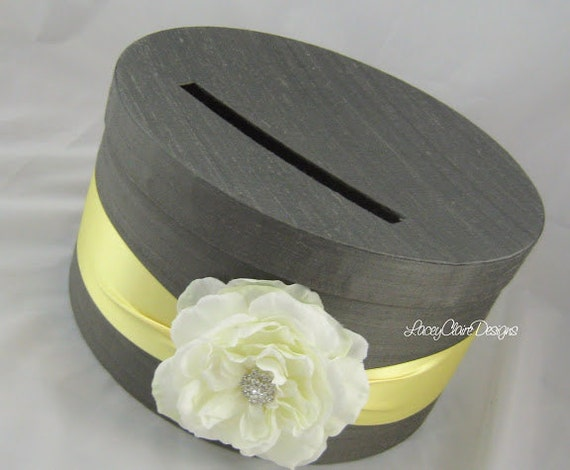 Wedding Gift Box Holder: Wedding Gift Card Holder Money Box Custom Made To Order