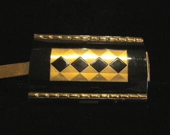 Vintage Compact Purse Cigarette Case Art Deco Purse 1930's Compact Enamel Compact Mirror Compact Powder Compact Wristlet Purse RARE