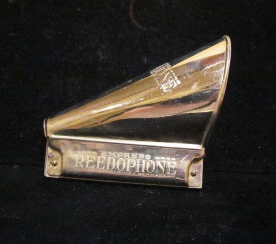 Vintage Harmonica 1920's Harmonica Empress Reedophone