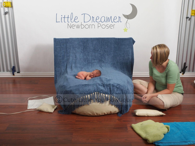 Newborn Poser Posing Bean Bag Photography by Littledreamerprops1