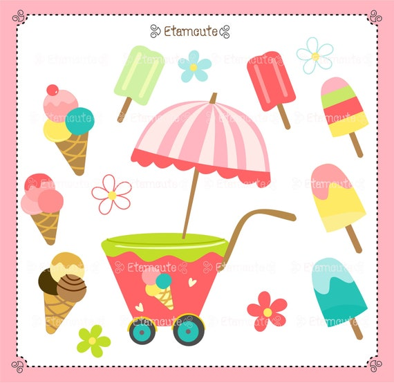 clip art ice cream party - photo #15