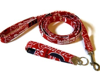 Republican Dog Leash key fob Set for the political pooch