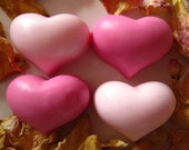 Valentine Heart Soaps Party Favors