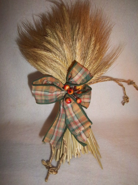 Wheat Bundle For Floral Arrangements Wedding Decor Tied with Twine