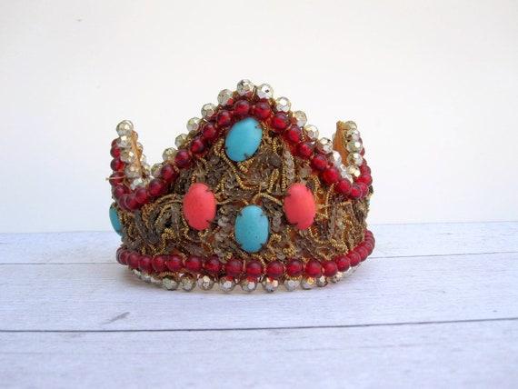 Vintage Halloween Costume King or Queens Royal Crown