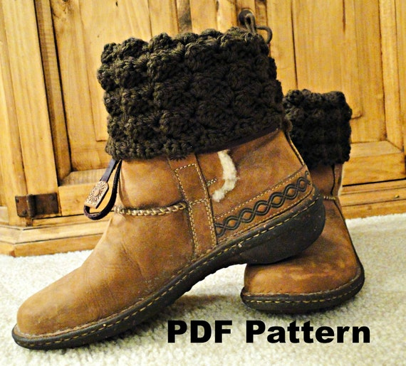 crochet uggs brown