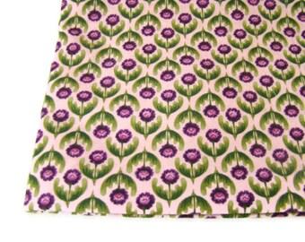 Kings Road Cucina Fabric Plum Floral Last Yard OOP