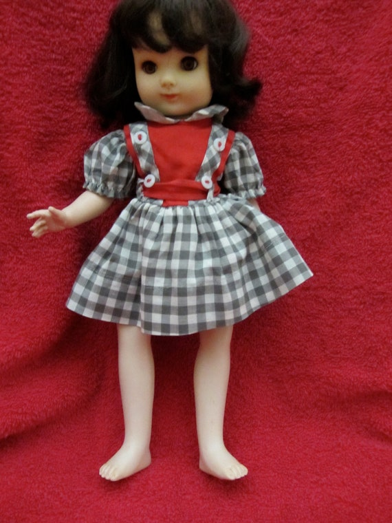 Ideal 14 Betsy Mccall Doll In Original Dress 1950s Vinyl