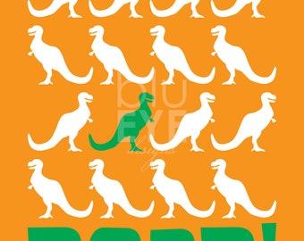 Dinosaur Roar Print