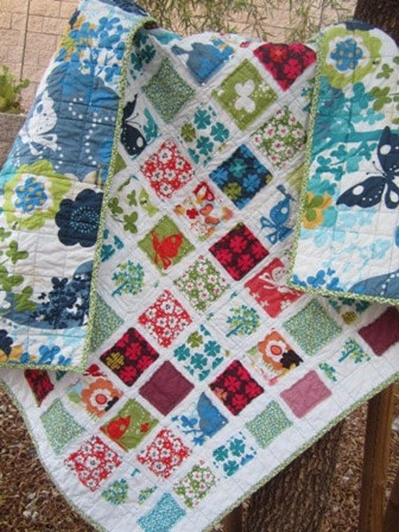 Just Wing It.........A Fray Edge Quilt