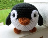 Made to Order-Louis the Penguin Crocheted Toy