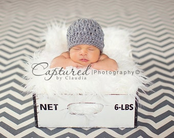 STOREWIDE SALE - White - Soft, Cozy, Cuddly Faux Fur Nest - Perfect Newborn Photography Prop - Plush Long Pile, Stuffer, Filler, Layering